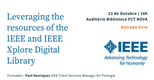 Leveraging the resources of the IEEE and IEEE Xplore Digital Library