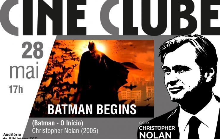 Cineclube | Batman Begins