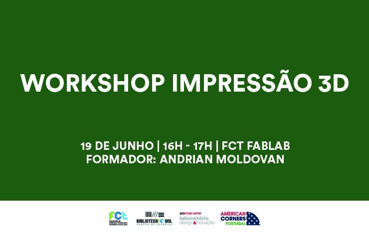 Workshop | Impressão 3D