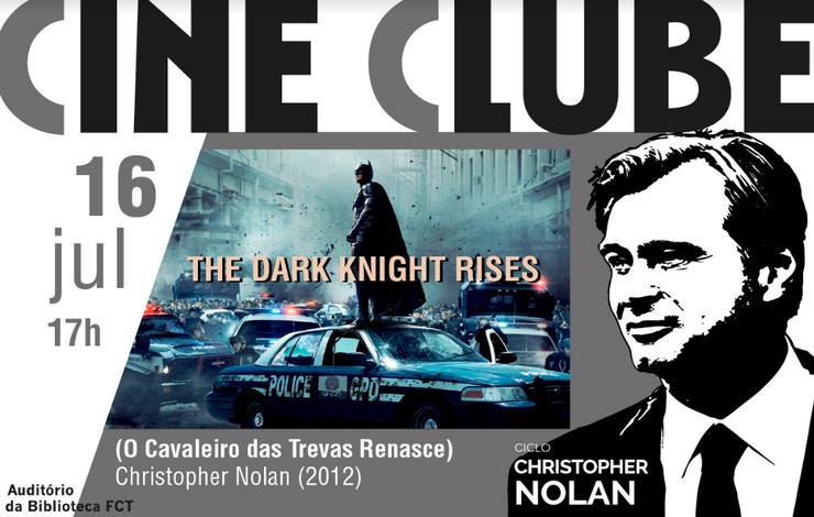 Cineclube | O Cavaleiro das Trevas Renasce