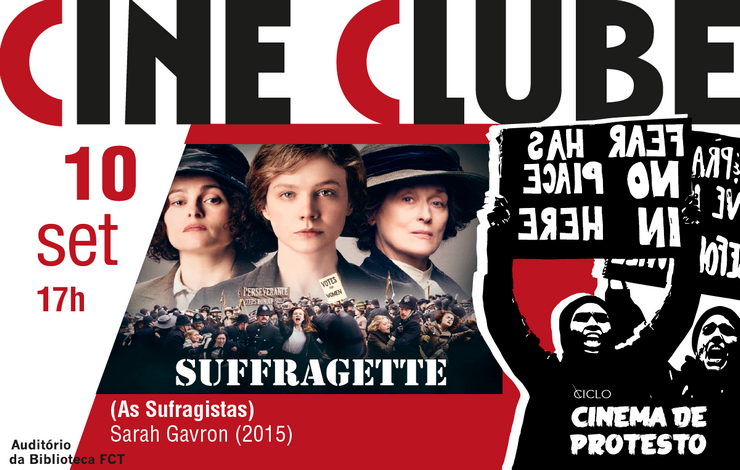 Cineclube | As Sufragistas