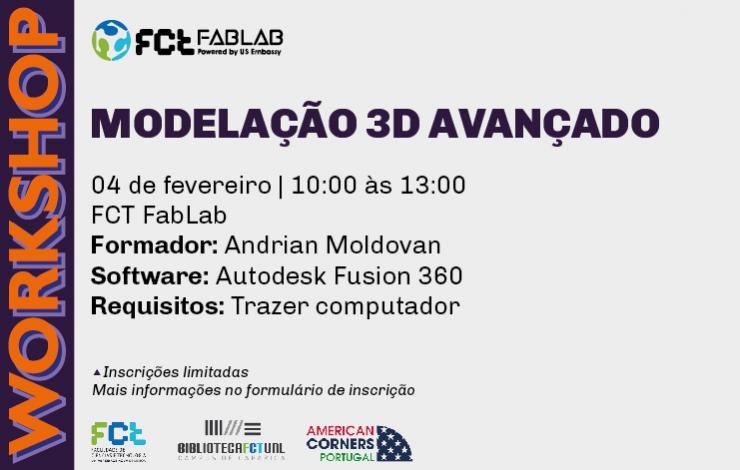 Workshop | Modelação 3D Avançado