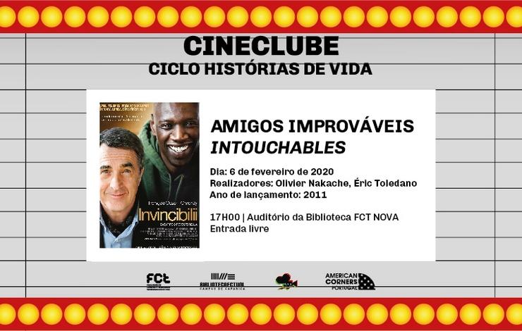 Cineclube | Amigos Improváveis