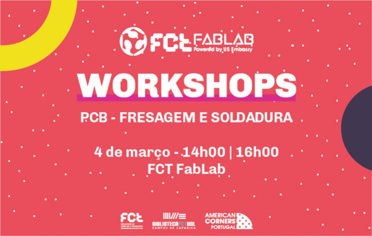 Workshop | PCB - Fresagem e Soldadura