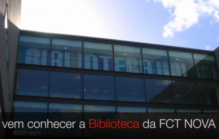 Vem conhecer a  Biblioteca da FCT NOVA.