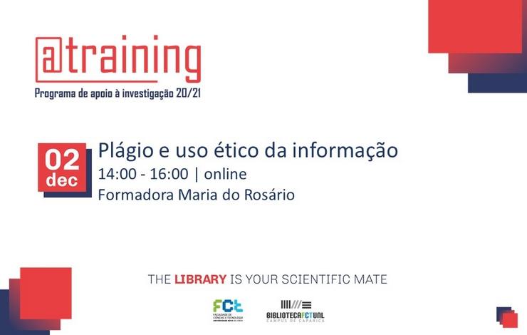 Formação Online | Plágio e uso ético da informação