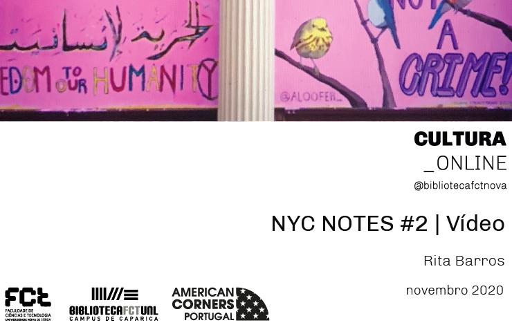 NYC NOTES #2| Vídeo