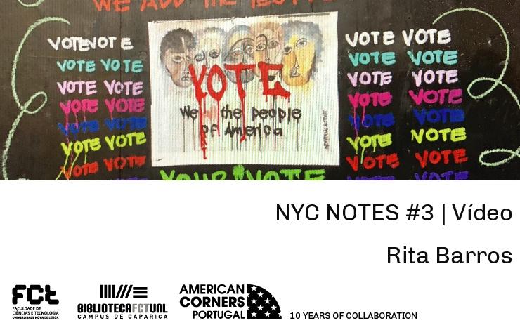 NYC NOTES #3  Vídeo