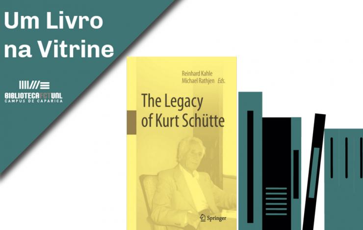 Livro   The Legacy of Kurt Schütte