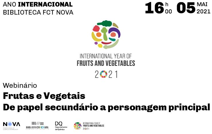 Webinário | Frutas e Vegetais