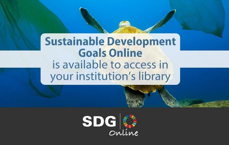 Acesso Temporário Gratuito à Sustainable Development Goals Online SDGO