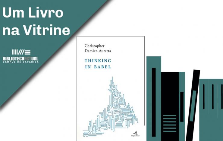 Um Livro na Vitrine | Thinking in Babel