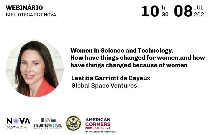 Webinário Women in Science
