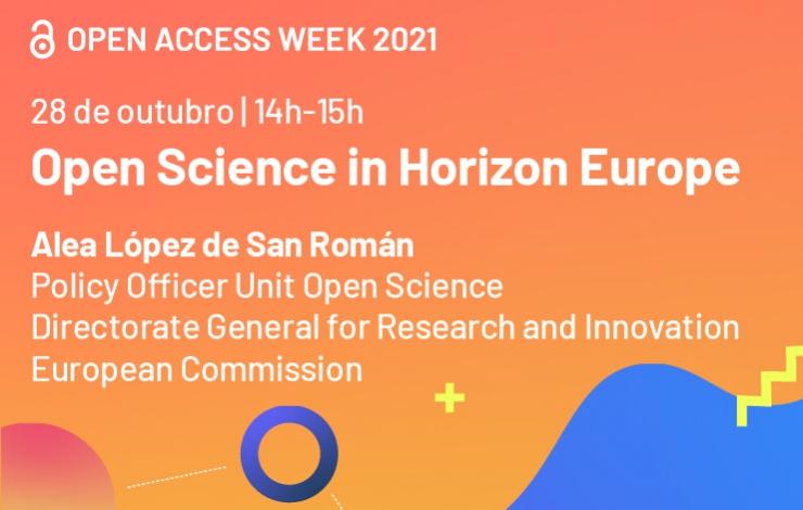 Webinário | Open Science in Horizon Europe